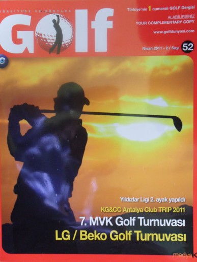 Golf Magazine - Acelya Turkan