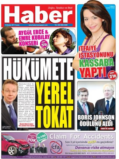 Haber Newspaper